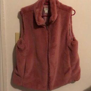 Soft Pink Vest